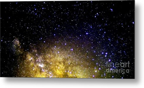 Stars Metal Print featuring the photograph Under The Milky Way by Thomas R Fletcher