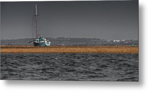 Yacht Metal Print featuring the photograph Evolution On The Swale by Nigel Jones