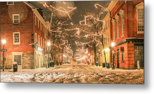 King Street Metal Print featuring the photograph King Street by JC Findley