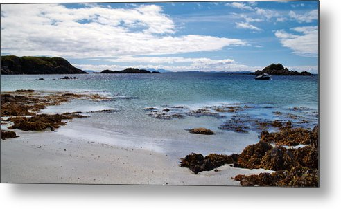 Beach Metal Print featuring the photograph Port Uisken by Steve Watson
