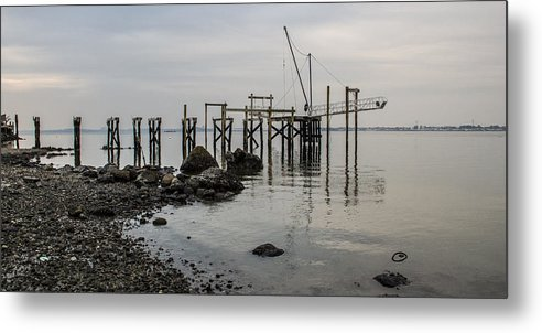 Water Metal Print featuring the photograph Sandy 7 by Arthur Sa