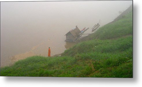 Monk Metal Print featuring the photograph Serenity by Sarah Parks