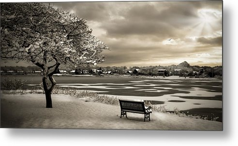 Cape Cod Metal Print featuring the photograph Winter Rest by Michael Petrizzo