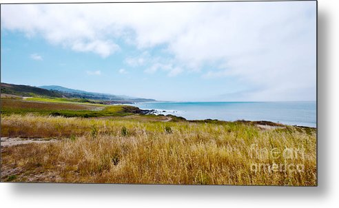 California Pacific Coast Highway Metal Print featuring the photograph California Pacific Coast Highway - Forever Summer by Artist and Photographer Laura Wrede