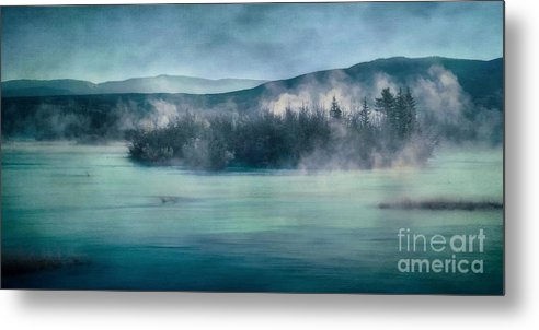 Yukon River Metal Print featuring the photograph River Song by Priska Wettstein