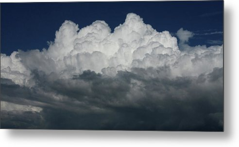 Thunder Metal Print featuring the photograph Storm Front by David Paul Murray