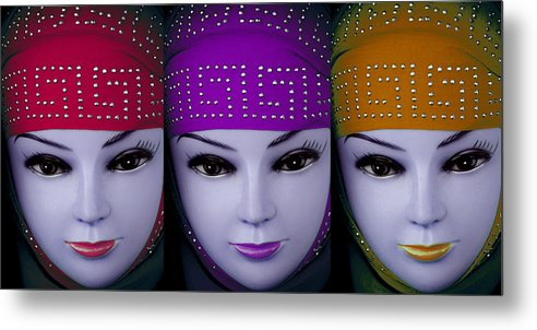 Jezcself Metal Print featuring the photograph The Ladies Of Primoz by Jez C Self