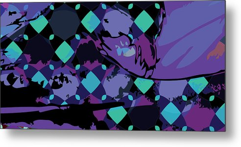 Abstract Metal Print featuring the digital art Mary 1 by Scott Davis