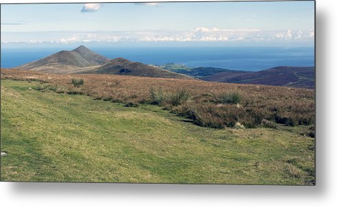 Mountains Metal Print featuring the photograph North Barrule And Maughold Head by Steve Watson
