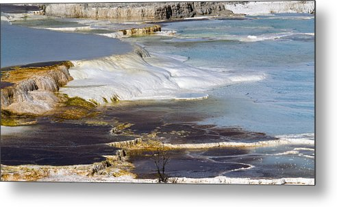 Chad Davis Metal Print featuring the photograph Plateau Of Colors by Chad Davis