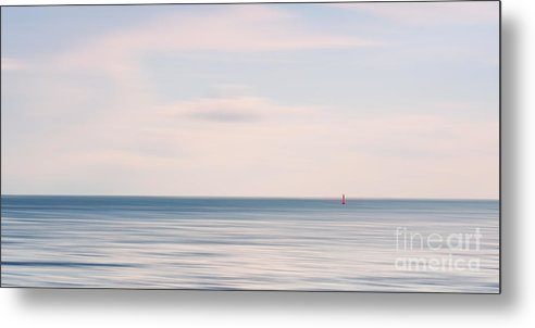 Sea Metal Print featuring the photograph The Silence by Angela Doelling AD DESIGN Photo and PhotoArt