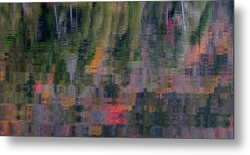 Reflection Metal Print featuring the photograph Colors Of Fall by Jean Macaluso