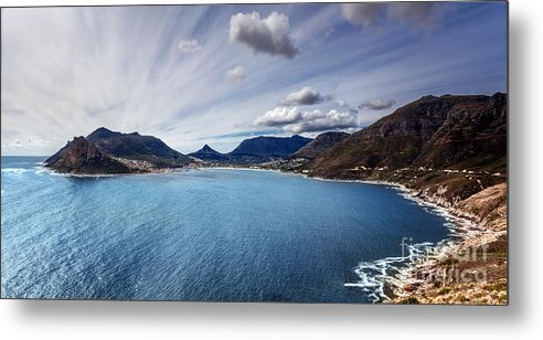 Africa Metal Print featuring the photograph South Africa Bay View by Anna Om