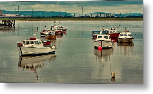 Paddys Hole Metal Print featuring the photograph Calm Waters by Trevor Kersley