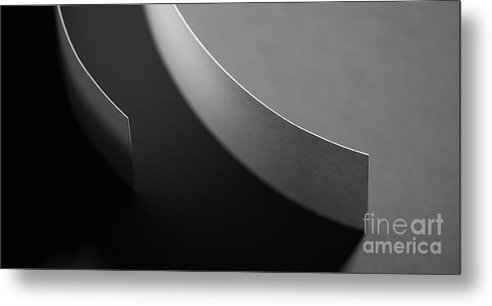 Paper Metal Print featuring the photograph Curved by Gabriela Insuratelu