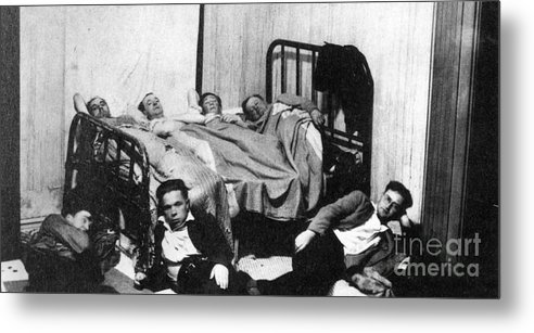 1930 Metal Print featuring the photograph Canada: Great Depression, 1930 by Granger