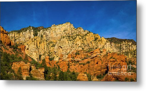 Jon Burch Metal Print featuring the photograph Colors Of The Southwest by Jon Burch Photography
