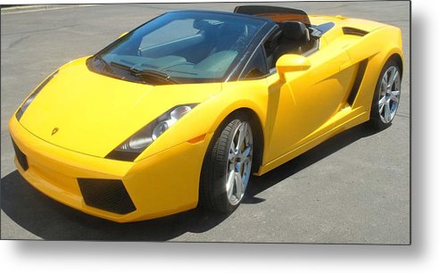 Car Metal Print featuring the photograph Dream Car by Margaret Fortunato