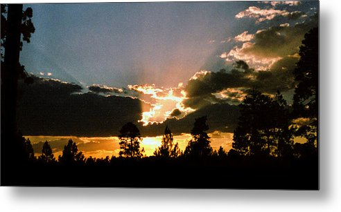 Arizona Metal Print featuring the photograph Inspiration Sunset by Randy Oberg
