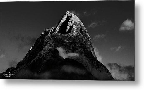 Mitre Metal Print featuring the photograph M I T R E by Andrew Dickman