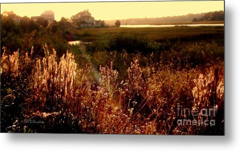 Marsh Metal Print featuring the photograph Sunset On The Marsh by Patricia L Davidson