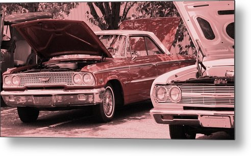 Car Metal Print featuring the photograph Hot Rod by Lisa Johnston