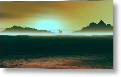 Horse Metal Print featuring the painting Enjoying The Moment by Tyler Robbins