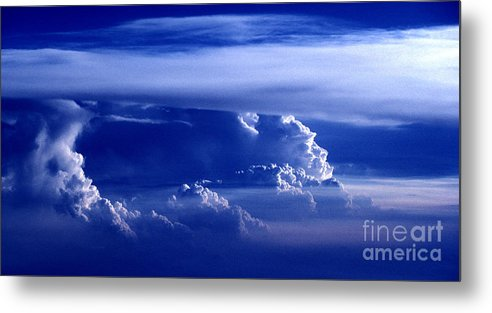 Sky Metal Print featuring the photograph Sky From Above - 5026 by Paul W Faust - Impressions of Light