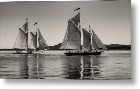 Windjammers Metal Print featuring the photograph Windjammers No. 1 by Fred LeBlanc