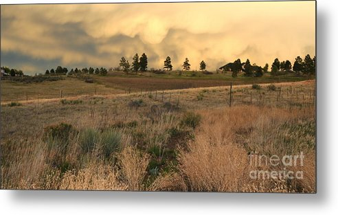 Spring Storm Metal Print featuring the photograph Spring Storm by Patrick Short