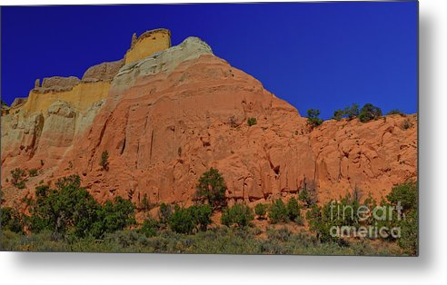 New Mexico Metal Print featuring the photograph Fortress by Kenneth Eis