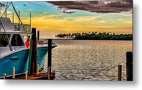 Islamorada Metal Print featuring the photograph Great Day To Fish by Mike Berry