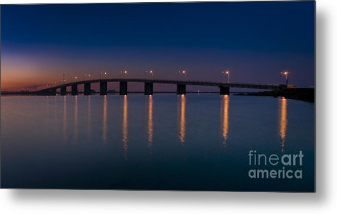 Architecture Metal Print featuring the photograph Ponte by Homydesign