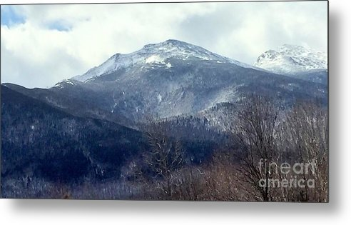 Beautiful Metal Print featuring the photograph Presidential Mountain View by Mark Guilfoyle