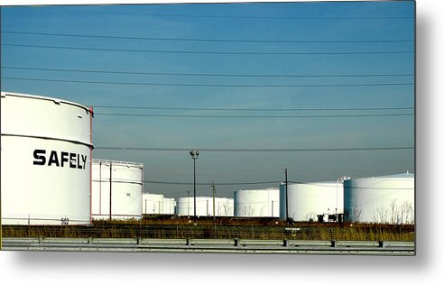 Tankers Metal Print featuring the photograph Safely by JoAnn Lense