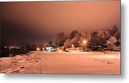 Winter Metal Print featuring the photograph Tracybphotography by Tracy Bennett