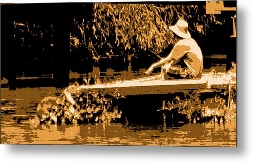 Fishing Metal Print featuring the photograph My Fish'n Hole by Joseph Coulombe