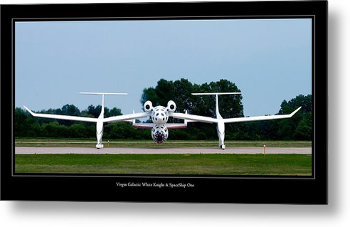 3scape Metal Print featuring the photograph White Knight by Adam Romanowicz