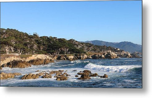 Ocean Metal Print featuring the photograph Blue Water Bliss by Christy Pooschke