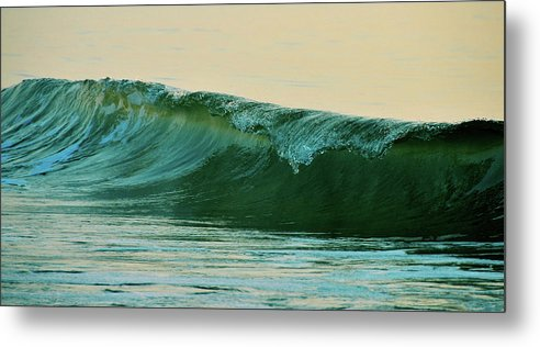 Breaking Metal Print featuring the photograph Cresting by JAMART Photography