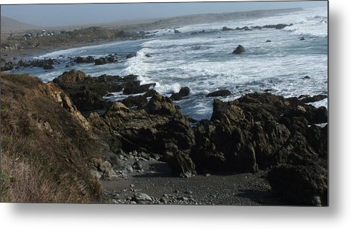 Landscape Metal Print featuring the photograph Precarious by Shari Chavira