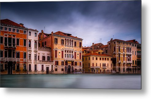 Sunrise Metal Print featuring the photograph Light In Venice by Jakob Noc