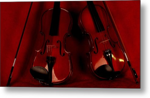Violins Metal Print featuring the photograph My Dear Friend..... by Tom Lass
