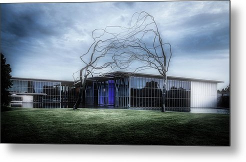 Modern Art Museum Metal Print featuring the photograph Modern Art Museum Of Fort Worth by L O C
