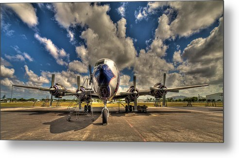 Aircraft Metal Print featuring the photograph Blue Yonder by William Wetmore