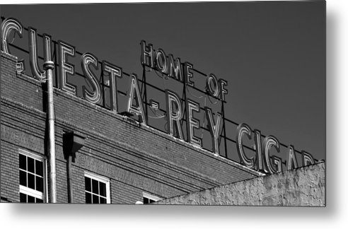 Fine Art Photography Metal Print featuring the photograph Cigar Home by David Lee Thompson