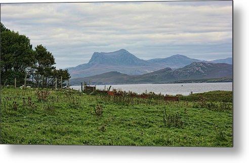 Scotland Metal Print featuring the photograph Scotland Landscape IIi by Chuck Kuhn