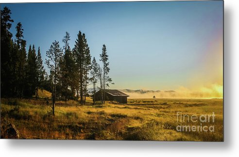 Yellowstone Metal Print featuring the photograph Breathing Bliss by Phil Cappiali Jr