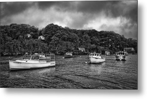 Maine Metal Print featuring the photograph Day Off by Diana Powell