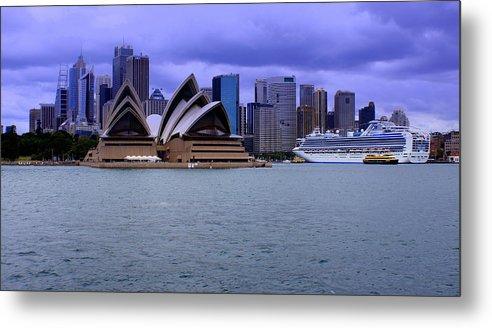Copyright Derektxfactor Metal Print featuring the photograph Sydney by DerekTXFactor Creative